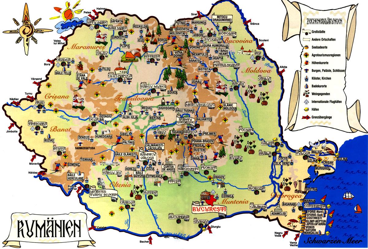 Street map Biertan Romania PDF