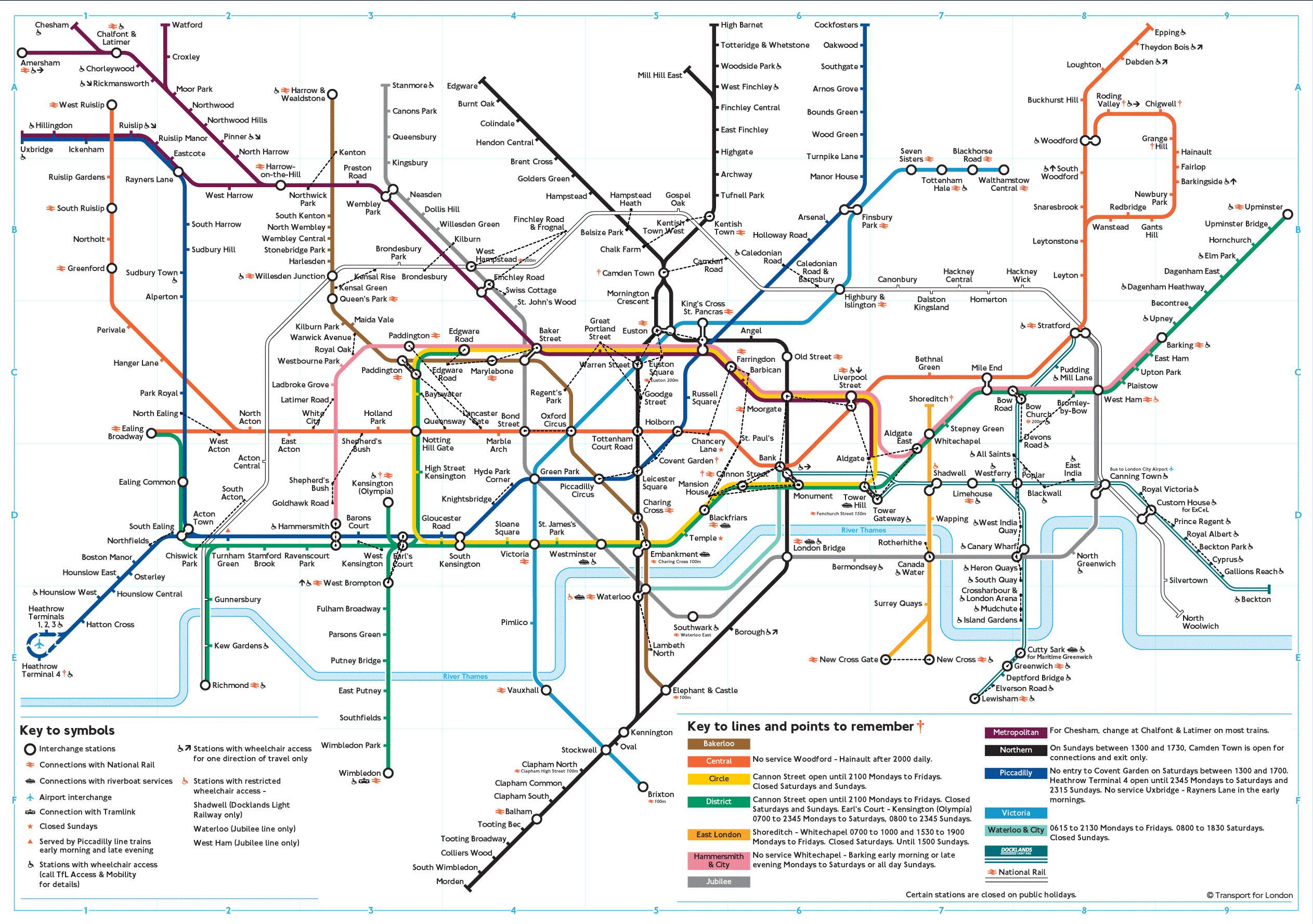 Mapy Londynu Szczegolowa Mapa Londynu W Jezyku Angielskim Mapy